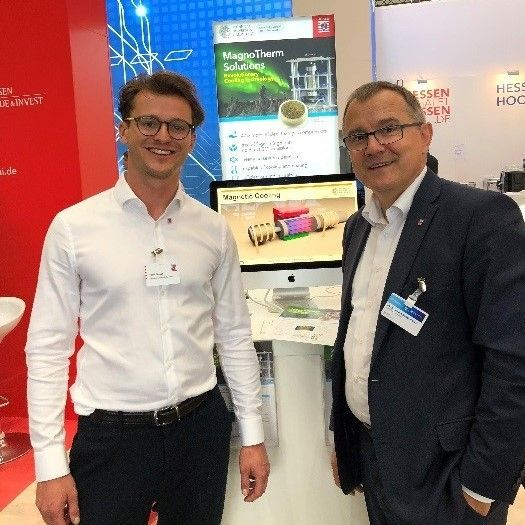 MagnoTherm at Hannover Messe 2018