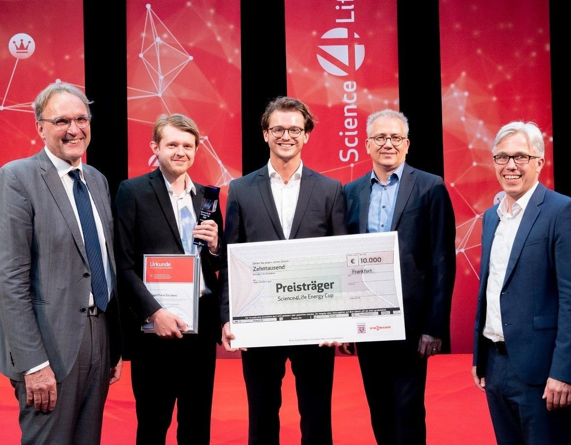 MAGNOTHERM wins Science4Life Energy Cup, June 2018