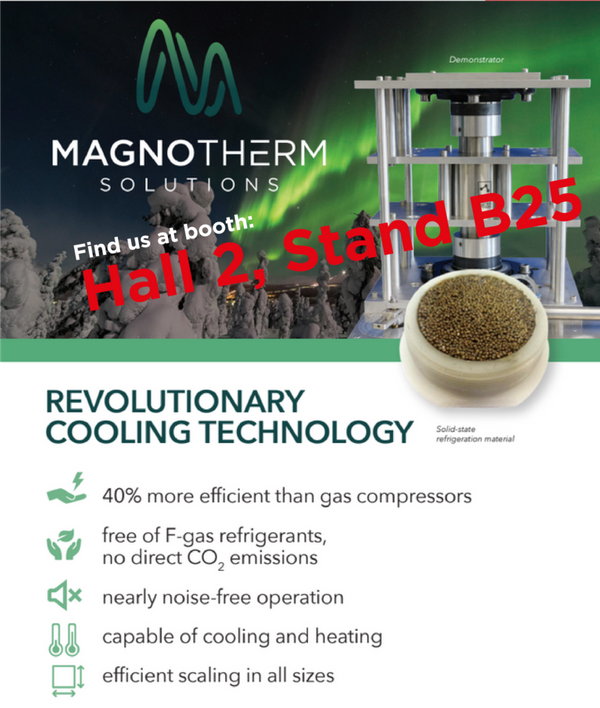 MagnoTherm Solutions at Hannover Messe 2019